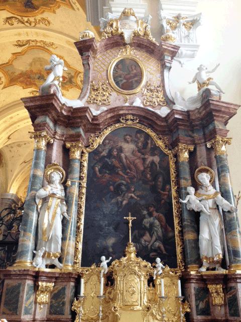 Kirche_halt_die_Klappe_Altar