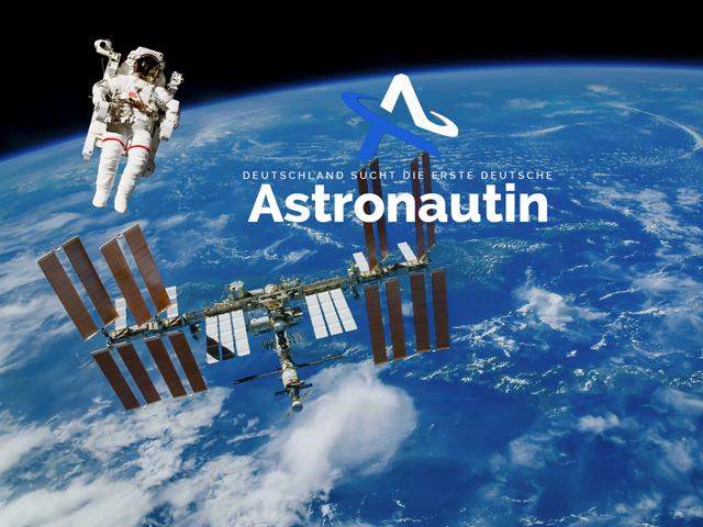 Raumfahrt, Weltall, Die Astronautin, ISS