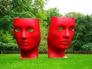 Kommunikation mit Maske