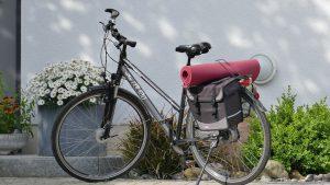 Fahrrad im Fruehling