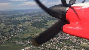 Turbulenter Flug