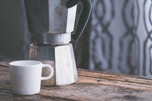 Kaffee am Morgen, ein Lustgewinn