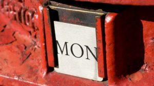 Britischer Briefkasten