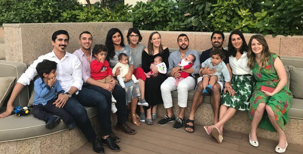 Familientreffen Dubai