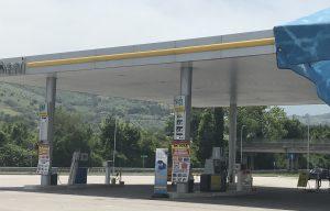 CNG Tankstelle in Italien
