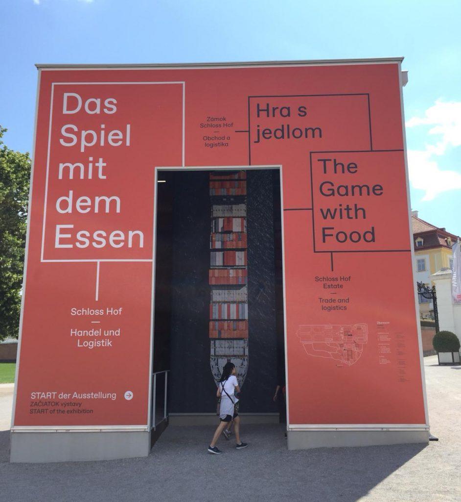 Container Ausstellung Schloss Hof