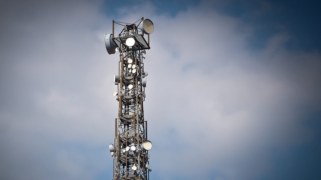 Funkmast für Mobilfunk