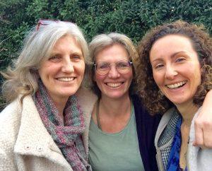 drei Frauen ein Event