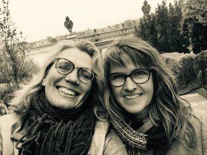 Elke Tonscheidt und Nicole Reimer sind Freundinnen