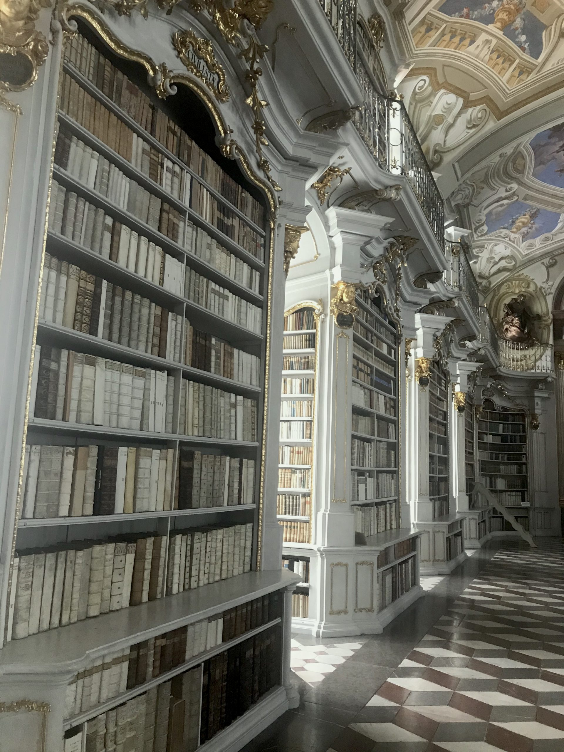 Klosterbibliothek im Stift Admont