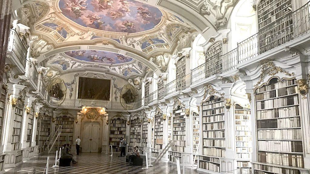 Die Bibliothek im Stift Admont