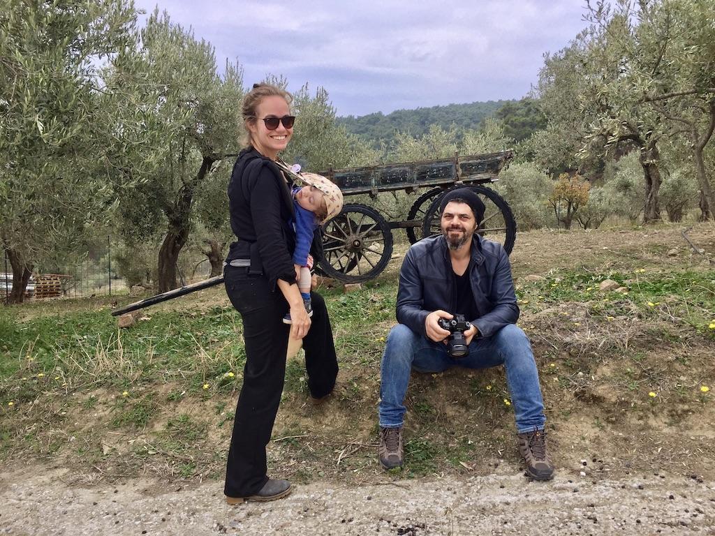 Helfer in Moria Lesbos