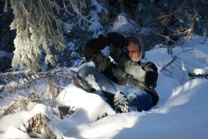 Fotograf Lukas Schult im Schnee