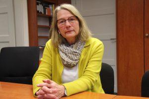 Die Frauenbeauftragte Ute Jungmann-Hauff