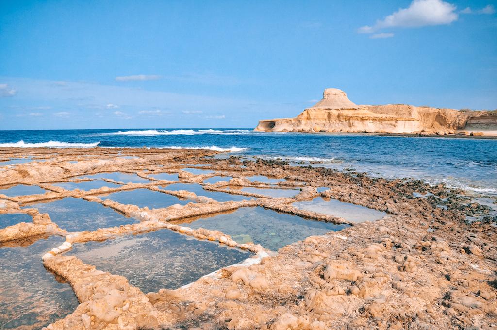 Salzabbau auf Gozo