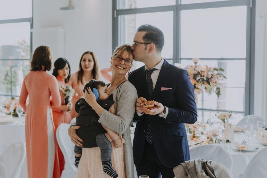 Feray Özcan auf Hochzeit