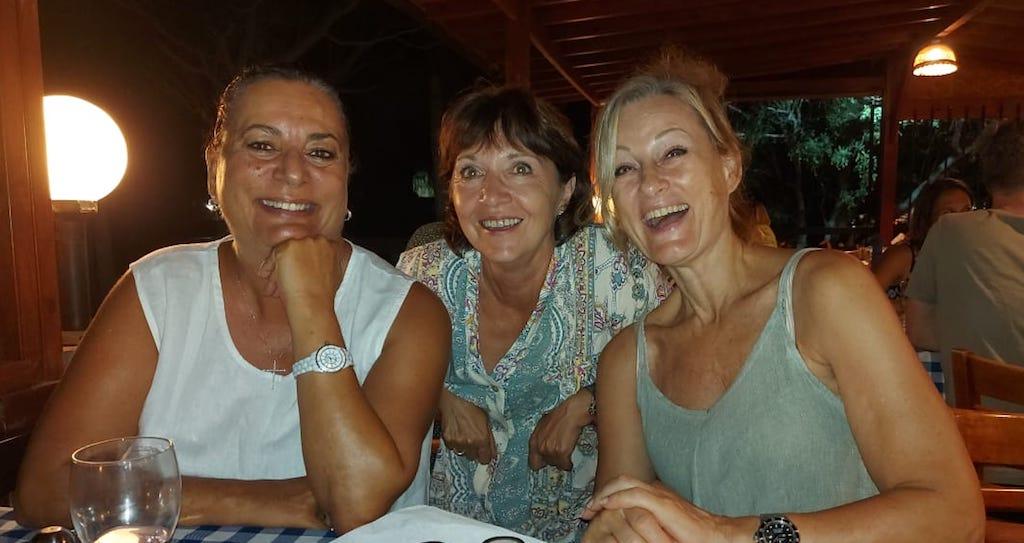 Mit Freunden auf Zypern