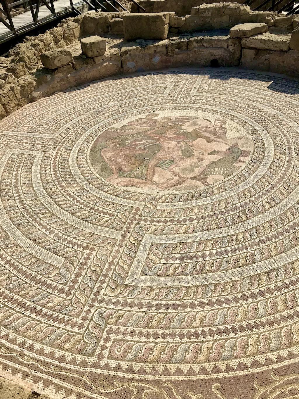 Mosaik in Paphos